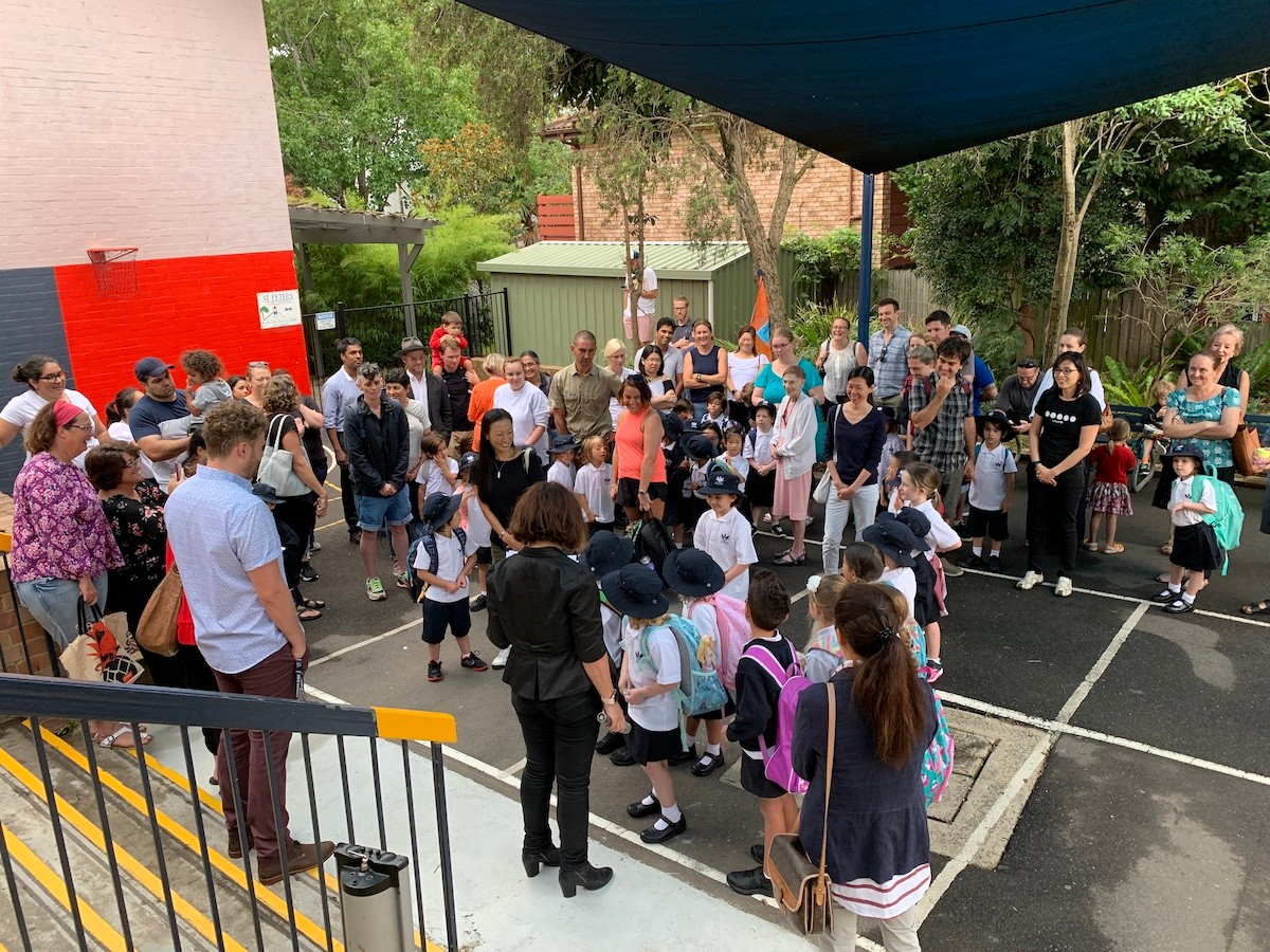 New students start at St Peters Public School for 2019