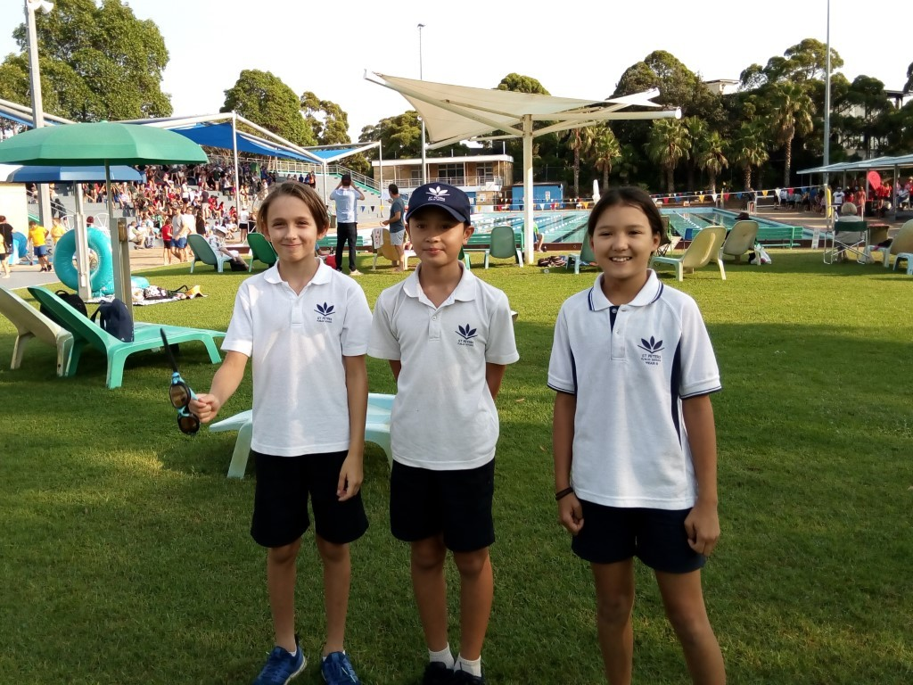 Swimmers at the South Sydney Zone Carnival
